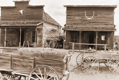 Visiting a ghost town could add excitement to Halloween.