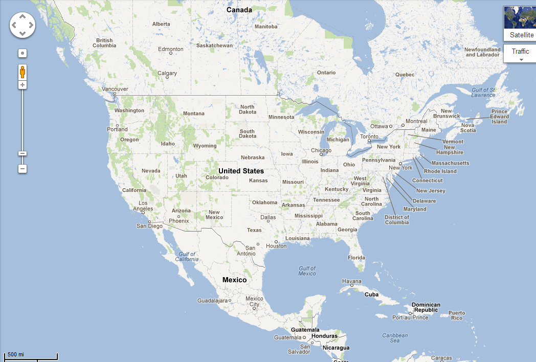 Maps Google Com Usa AWEF - Google map of the united states