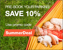 Pre-book Your Parking & save 10%