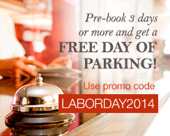Pre-book Your Parking & Get A FREE DAY OF PARKING